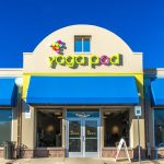 Our beautiful Yoga Pod storefront in Boulder